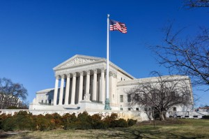 Supreme Court of the United States in the Winter
